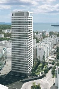 In this high-rise called Cirrus you can get - well, high...