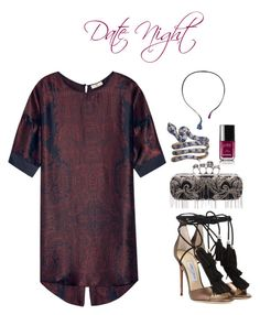 """""""Date night"""" by iamminx on Polyvore featuring DAY Birger et Mikkelsen, Jimmy Choo, Leyla Abdollahi, Chanel, Alexander McQueen, women's clothing, women, female, woman and misses"""