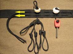 Make your own Iceman belt. Ötzis 5300 year old belt attachment system reborn!