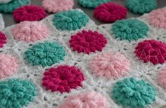 Flowers crochet. Love this!