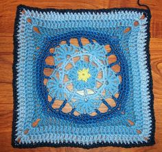Ravelry: Catharine's Forget-me-not pattern by Annie L. designs