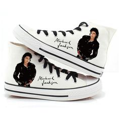 Michael Jackson shoes canvas shoes hand paint shoes people shoes... ( 70) 387acc1bc724