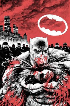 We've seen a host of variant covers for DC's upcoming Dark Knight III: The Master Race [check them out here, here, here, here, here and here), and now we have a first look at some interior artwork ...