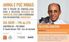 Palestra do Ruben Rico. Realização Academia Mineira de Marketing - AMMA #marketing #palestra