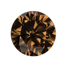0.66 Carat, Natural Dark Yellowish Brown, Round, VS1 GIA http://www.beckers.com/Detail.aspx?ProdId=905436=colordiamonds