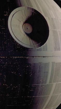 Star Wars - Star Wars Death Star - Ideas of Star Wars Death Star - Star Wars Images Star Wars, Star Wars Pictures, Star War 3, Death Star, Star Wars Fan Art, Star Trek, Nave Star Wars, Cuadros Star Wars, Star Francaise