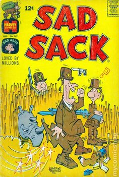 Sad Sack Cartoon | Sad Sack (1949) comic books