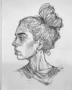 Sketchbook Drawings, Art Drawings Sketches Simple, Pencil Art Drawings, Drawing Drawing, Art And Illustration, Arte Inspo, Portrait Sketches, Cartoon Art, Cartoon Drawings