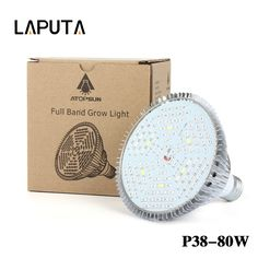 1pcs 30W 50W 80W Full Spectrum Led Plant Grow Lamps E27 LED Horticulture Grow Light for Garden Flowering Hydroponics System