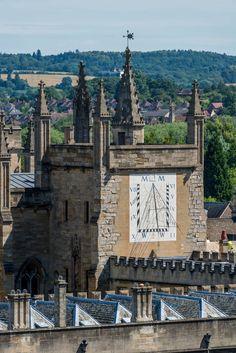 Sundial, New College, Oxford UK