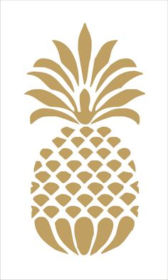Pineapple REUSABLE STENCIL 9 Sizes Available Create Beach Signs Or Cottage Pillows