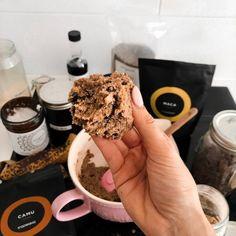 Sarah's Day's recipe of Superfood Cookie Dough / Banana Cookies Healthy Cookie Dough, Healthy Cookies, Healthy Treats, Healthy Desserts, Healthy Food, Donut Recipes, Snack Recipes, Vegan Recipes, Junk Food Snacks