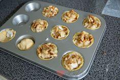 Bladerdeeg hapje met peer en geitenkaas - Keuken♥Liefde
