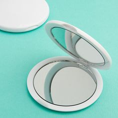 Perfectly Plain Collection Mirror Compact Favors #DIY #BlankCompactMirror #CompactMirror