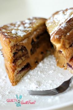 Fried PB and Chocolate...special occasion breakfast