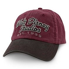 Walt Disney Studios Hat for Adults   Disney StoreWalt Disney Studios Hat for Adults - You'll be hitting all the Hollywood bases in this classic-style baseball cap with embroidered Walt Disney Studios lettering and adjustable backstrap, direct from our historic movie lot in Burbank, California.