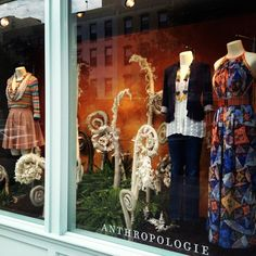 Anthropologie window perfection. #Anthrofave