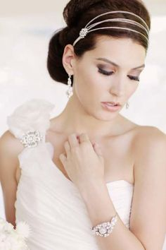 Bridal Head Pieces <3****pretty
