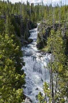 Kepler Cascades, Yellowstone National Park, Wyoming