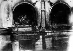 Dachau, Germany, The remains of a dead body inside a crematorium in the camp, after the liberation, I have original pictures of this camp and its victims. My grandpa was there. Holocaust Unit, Creepy Vintage, Political Prisoners, Jewish History, Strange Places, Forced Labor, Historical Images, World War Two, Wwii