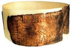 Пояс с гравировкой, 12 -11 вв. до н.э., Лчашен, бронза, 13,5 x48 см, No 2152 НИМА