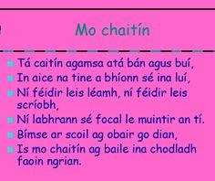 Irish Language, European Languages, Family Roots, Celtic, Teaching, Education, School, Cats, Gatos