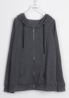 Fall must-have, $19.99~ Free shipping & Easy Return+Refund! You can have this hooded splicing top for your daily look. It is detailed with front front pockets&drawstring hood design. Be cool with Cupshe.com