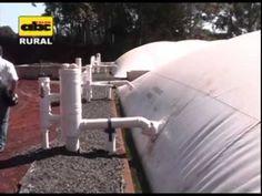 Producción de gas con biodigestor