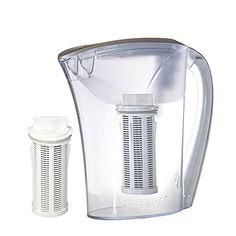 Clear2o GRP200 Advanced Gravity Water Filter Pitcher System (2 Filters Included) Water Filter Pitcher, Sink Countertop, Under Sink, Filters, Kitchen Appliances, Diy Kitchen Appliances, Home Appliances, Kitchen Gadgets, Under Bathroom Sinks