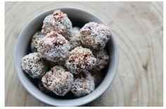 Gezonde snack balls