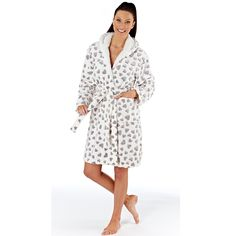 Charlene Heart Dressing Gown - Nod and a Wink Buy Bra, Nightwear, Baby Dolls, Dressing, Hollywood, Lingerie, Gowns, Heart, How To Wear