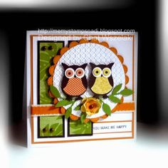 Owl Punch Card by nitestamper - Cards and Paper Crafts at Splitcoaststampers