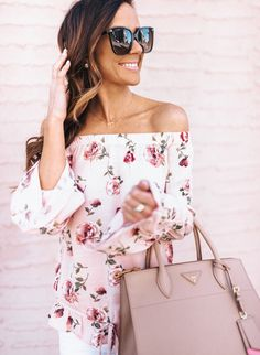 I just landed in NYC for a quick second before heading across the pond but be sure to check out this adorable floral number that I styled on www.sequinsandthings.com today. It's a great option for Easter lunch with the fam and it's under $50! [Link in profile] 💗 Shop this pic via screenshot with the new LIKEtoKNOW.it app OR go here: http://liketk.it/2r1BU via @liketoknow.it #liketkit #whatiwore #springfashion #LTKUnder50 #florals #pink #springstyle #wiw #prada
