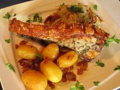 Schweinsbraten Eggs, Chicken, Meat, Breakfast, Recipes, Food, Chef Recipes, Pork Roast, Clean Foods