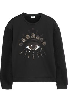 4028c926325e Gisele Bundchen dons trendy Kenzo sweater emblazoned with eye design as she  steps out in NYC