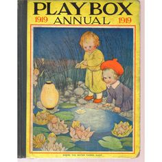 Playbox Annual 1919, via oxfam.org.uk. Cover art by Susan Beatrice Pearse
