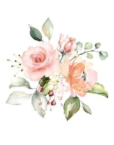 Watercolor Flowers Discover Floral nursery decor I am a child of God Wall Print - Baby Girl Wall art in pink peach and green - Pretty Christian Nursery Art Floral Nursery, Floral Wall Art, Arte Floral, Nursery Art, Nursery Decor, Elephant Nursery, Watercolor Flowers, Watercolor Paintings, Watercolour
