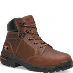 085594214 Timberland PRO Men's Helix Safety Boots - Brown www.bootbay.com