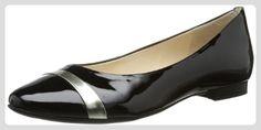 Högl shoe fashion GmbH 7-101014-01010 7-101014-01010 Damen Ballerinas, Mehrfarbig (schwarz/schwarz 101), EU 35 (UK 3) - Ballerinas für frauen (*Partner-Link)