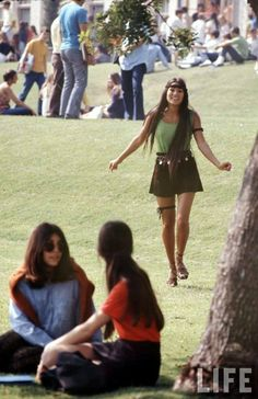 photographed by Arthur Schatz for LIFE Magazine. This was a photo essay of high school fashion in 1969 (taken at a Californian high school)