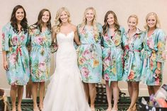 Pin for Later: 40+ Adorable Photos You Need to Take With Your Bridesmaids The Preglam Bridesmaid Shot See the full wedding here. Photo by Clane Gessel