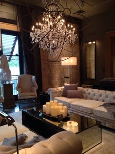 "Photo of Restoration Hardware - ""Cool"" - Houston, TX Interior Design Living Room, Living Room Designs, Living Room Decor, Bedroom Decor, Restauration Hardware, Elegant Living Room, Home Room Design, House Rooms, Luxury Living"