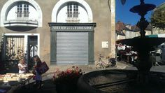 Vintage French Storefront in Excideuil Store Fronts, French Vintage, Home Decor, Decoration Home, Room Decor, Interior Design, Home Interiors, Interior Decorating