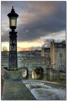 Bath, England - a quaint, old town outside of London. Visit an ancient Roman Bath and just enjoy the old architecture