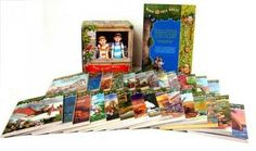 Magic Tree House Library Books 1-28, Black