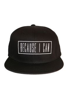 7348f263296fb1 All Black Snapback Flat Bill Hats, Flat Hats, Black Snapback, Snapback Hats,