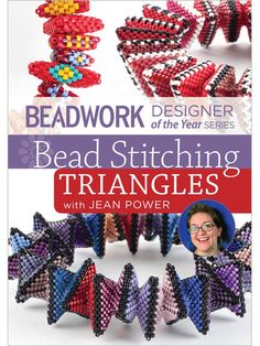 Beadwork Designer of the Year Series Bead Stitching Triangles with Jean Power DVD - Interweave