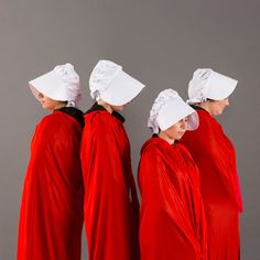 DIY Offred from Handmaid's Tale Costume: We will bear no more.
