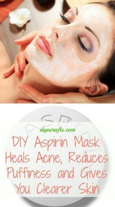 honey aspirin mask Homemade Face Mask For Acne:   For mask you need aspirin, lemon juice, honey, natural yoghurt.  Dissolve 5-6 tablets of aspirin in lemon juice, add 1 tablespoon of yoghurt and 1/2 tablespoon of honey. All ingredients are mixed thoroughly.  Put mask on cleansed face for 20 minutes and then wash off with warm water.