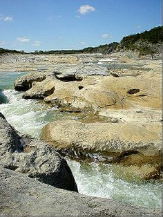 Pedernales River, Texas   In the Pedernales Falls State Park, in the Texas Hill Country.